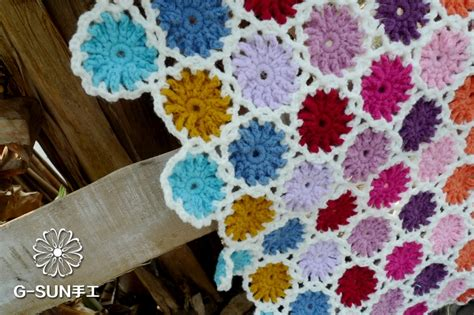 Decke 90x120 free shipping colorful crochet wool cotton handmade