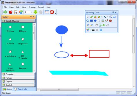 computer drawing tool whiteboard software presentation assistant
