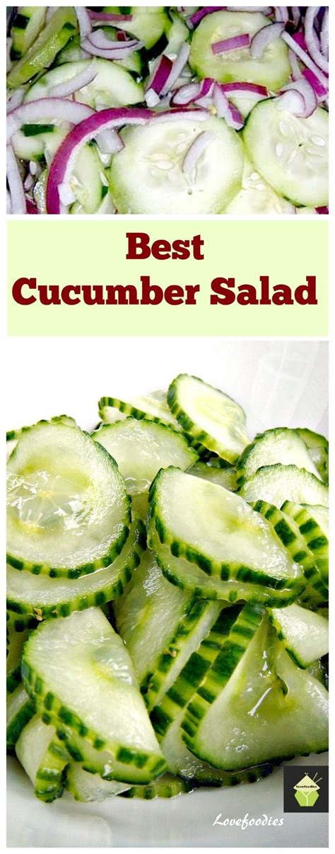 cucumber recipe easy cucumber salad recipe vinegar