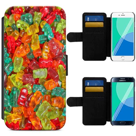 Premium Marble Jelly Soft For Iphone 44s 55s 66s6 sweet shop treats n mix jelly flip phone wallet cover iphone samsung ebay