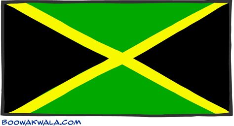 Jamaican Finder Jamaica Flag