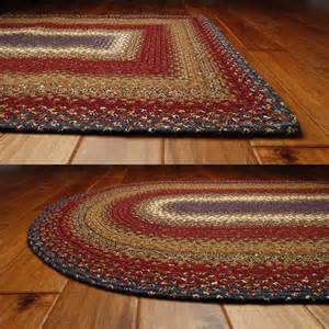 Rugs by Log Cabin Step Cotton Braided Rugs