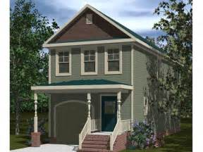 Narrow Lot Houses Narrow Lot Home Plans Affordable Narrow Lot House Plan With Style 058h 0069 At