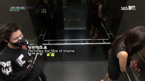 bts elevator prank how would you react if bts 1 k pop amino
