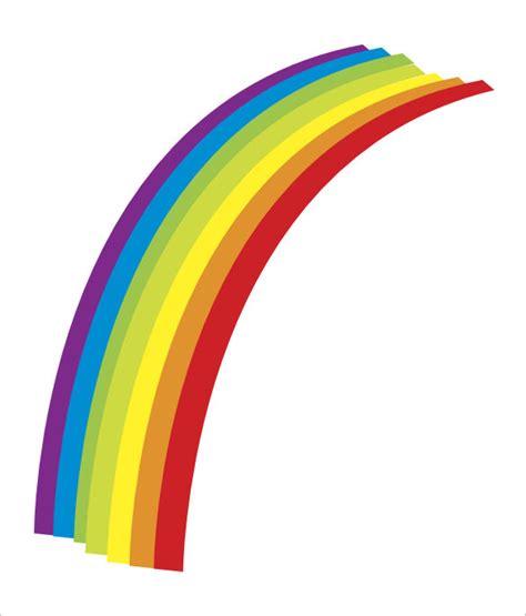 rainbow template for 8 rainbow templates free pdf documents free