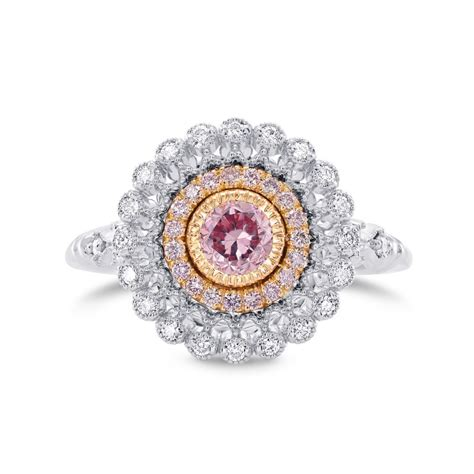 Pink Ring by Pink Engagement Rings Leibish