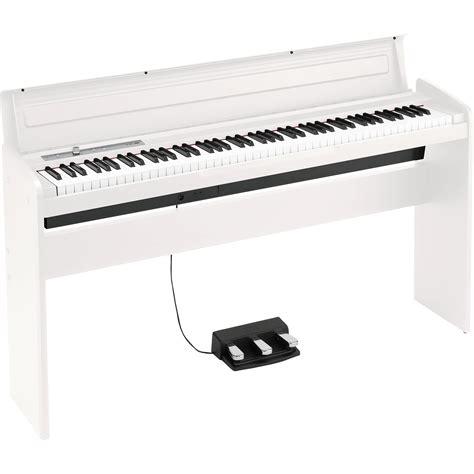 Korg Piano Digital Lp180 Wh White korg lp 180 digital piano white lp180wh b h photo