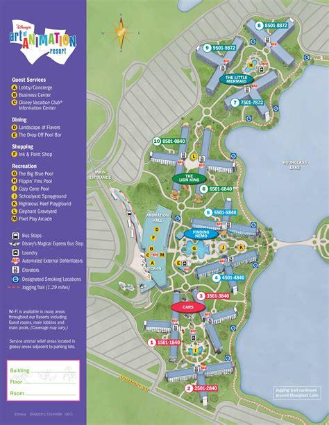 layout of art of animation resort art of animation resort map kennythepirate com