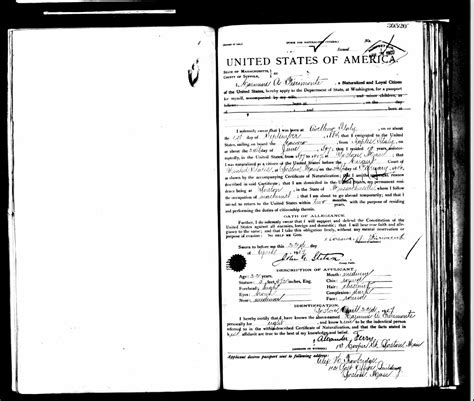 us department of state passport services vital records section the genealogy of torre le nocelle italy passport