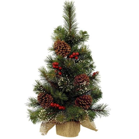 christmas mini tree berries pinecones 75cm on sale fast
