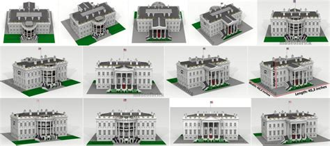 lego white house custom lego white house with over 14000 pieces minifigure price guide