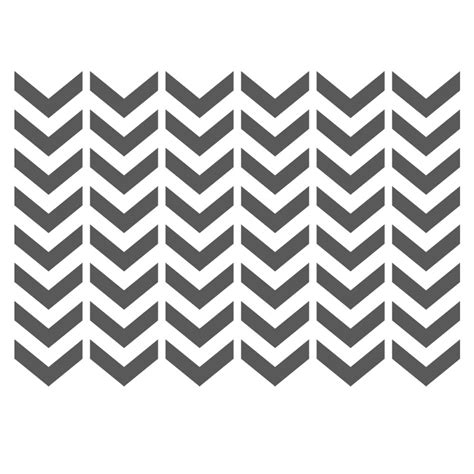 chevron stencils template small scale for crafting