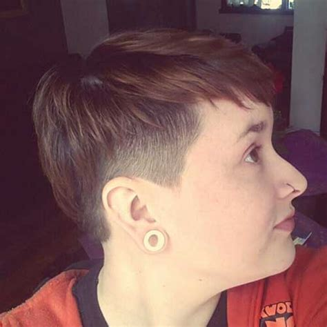 pixie haircut with shaved sides 15 pixie cuts with shaved side pixie cut 2015