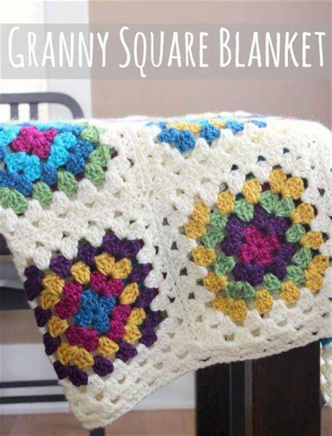 youtube tutorial granny square 38 gorgeous crochet blanket patterns ideas diy to make
