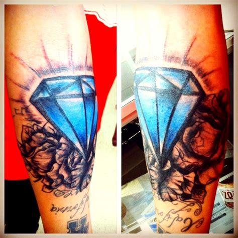 diamond tattoo cover up ideas cover up and fix up i did on my brother tattoo tattoos