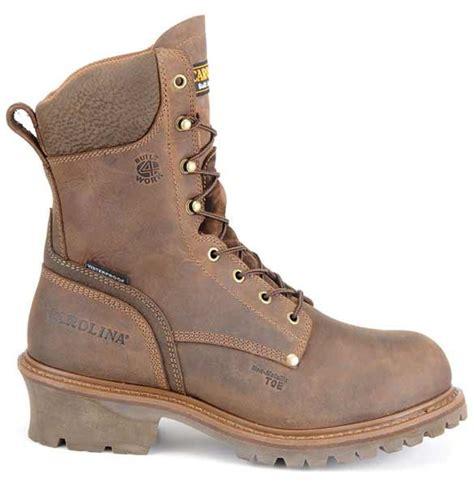 carolina logger boots review carolina 8 inch brown composite toe waterproof logger