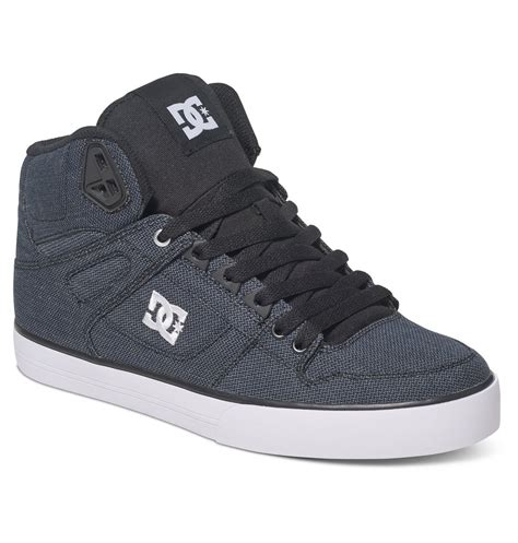 dc shoes high tops s spartan high wc tx se high top shoes adys400004 dc