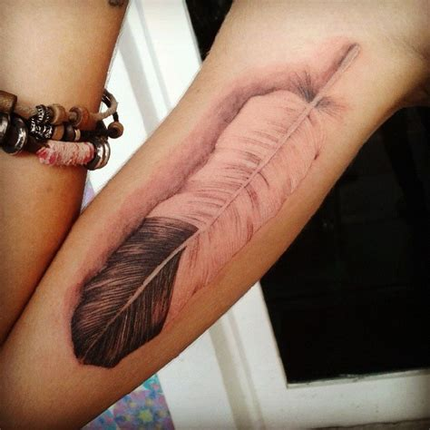 tattoo placement meaning arm 55 cool feather tattoo designs