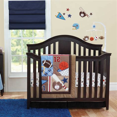 just born touchdown crib bedding collection baby bedding