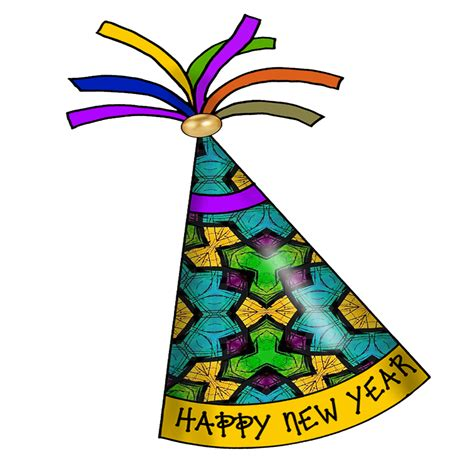 Happy New Years Clip by New Year S Hat Clipart
