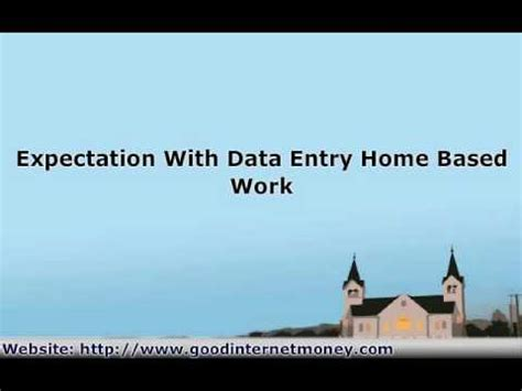 how to find legitimate work at home data entry