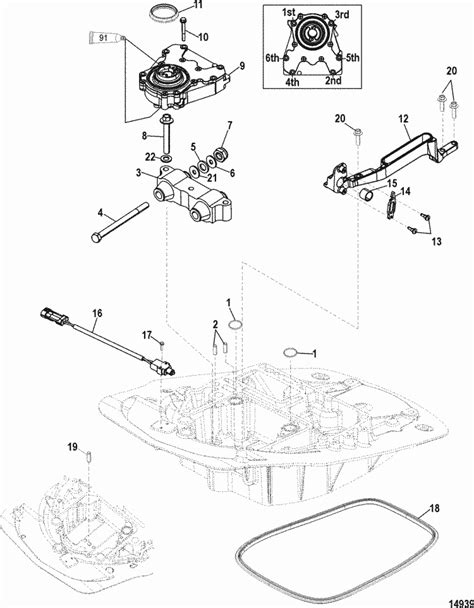 Mercury Marine 75 HP EFI (4-Stroke) Oil Pump Parts