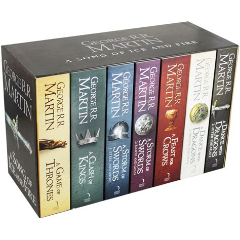 song of two worlds books of thrones a song of and 7 book box set