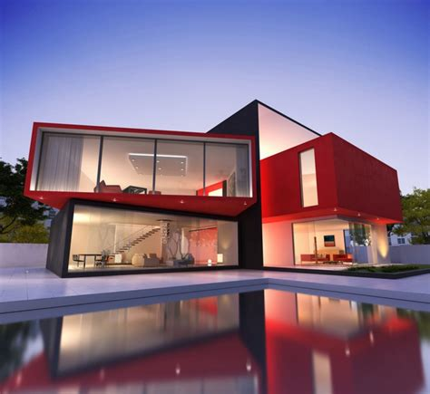 red house designs red exterior homes paint the town modern house designs