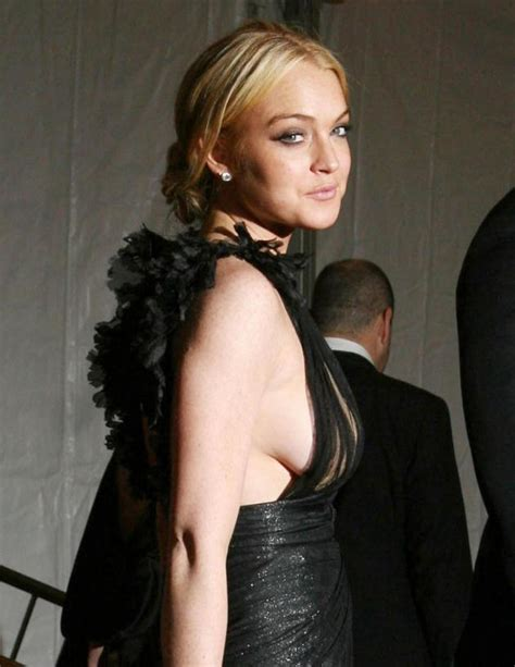 Lohan Nip Slip by Lindsay Lohan Wasted A Photo Tribute The