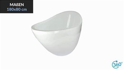 badewanne 180x80 freistehende acryl badewanne zoe 180x80 cm pr 228 sentation