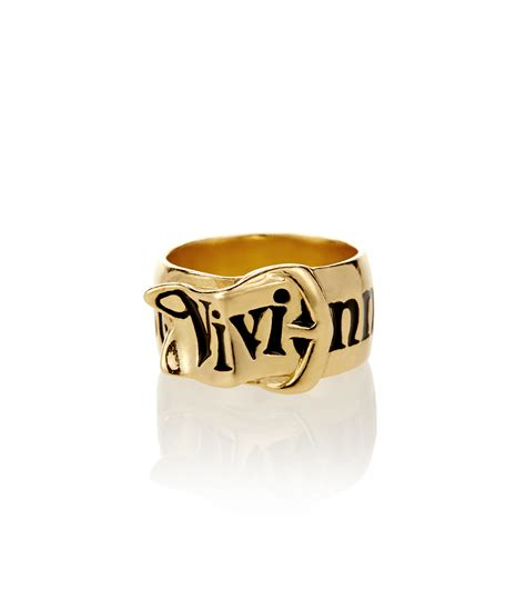 Ring Belt Gold vivienne westwood gold belt ring 462716