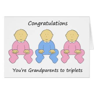 how to make a greeting card for grandparents day two one boy triplets for new grandparents greeting card