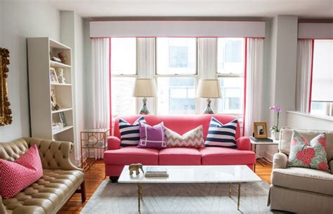 2 sofa living room pink delight beautify your living room by adding a pink sofa