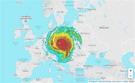 hurricane irma size size of hurricane irma vs europe mapporn