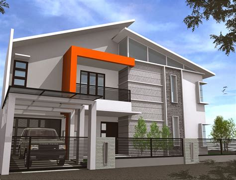 modern design home architectures modern minimalist house design 2 floor very