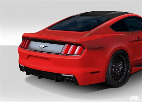 ford mustang spare parts bodykit for ford mustang 2015 avb sports car tuning