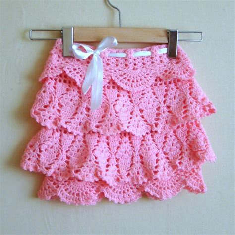 pattern crochet ruffle skirt 18 best crochet ruffle yarn images on pinterest