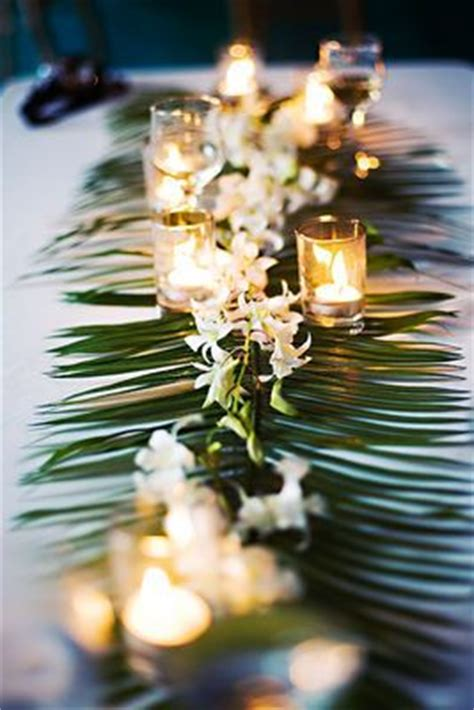 Decorating Ideas Using Palm Fronds 17 Best Ideas About Tropical Decorations On