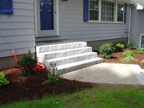 House Porch Designs Stair Designs 187 Granite Steps