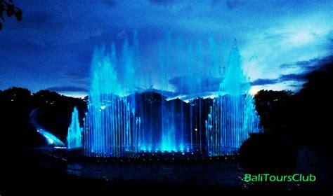 Air Mancur Berpadu taman kota denpasar sebuah tempat wisata gratis di lumintang