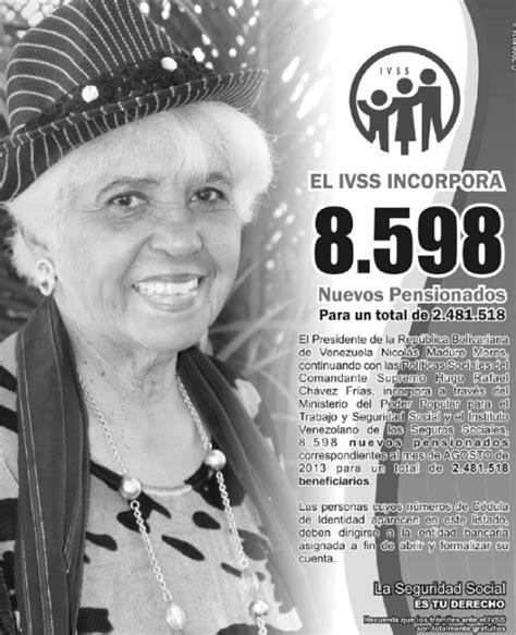 listados pensionados ivss amor mayor listados de pensionados amor mayor hairstylegalleries com