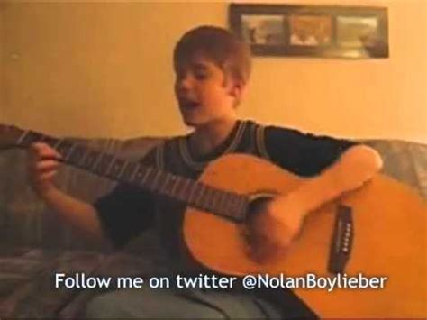 justin bieber biography before he was famous justin bieber singing waves of grace before he was famous