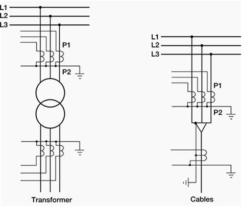 basic current transformer wiring diagram ideas