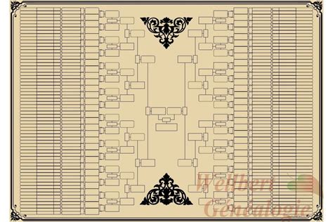 11 generation family tree template printable family tree template home empty ancestry trees