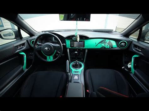 frs interior vinyl wrapping interior of the scion frs toyota gt86