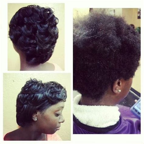 Dominican Blowout On Natural Short Hair | 1000 ideas about natural hair blowout on pinterest