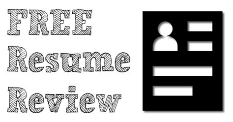 Free Resume Review by Free Resume Review Jobfairing The Fair Directory