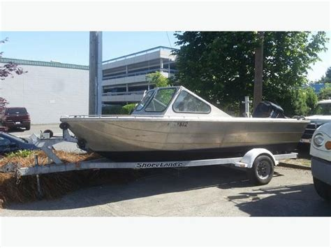 18 foot aluminum boat 18 foot welded aluminum boat with trailer central saanich