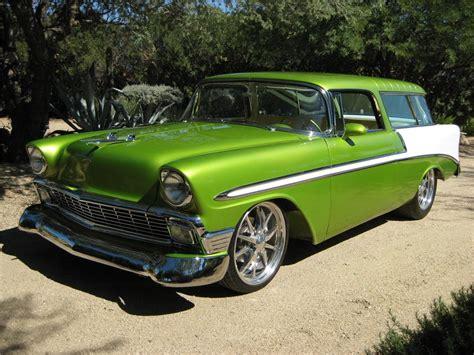 1956 chevrolet nomad custom wagon 161534