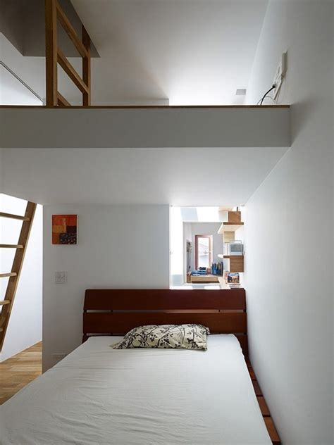 japanese small bedroom flexible modern architecture surprising narrow house in